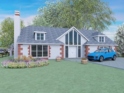Dormer Bungalow Designs