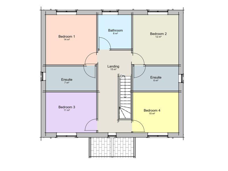 self build cottage plans