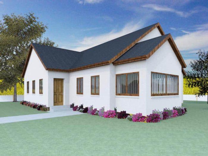 Timber frame home kits houseplansdirect for Self build kit home designs