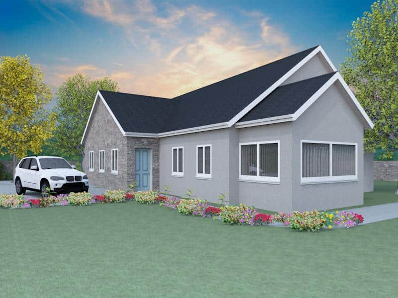 Traditional bungalow house plans the hildersley Traditional bungalow house plans