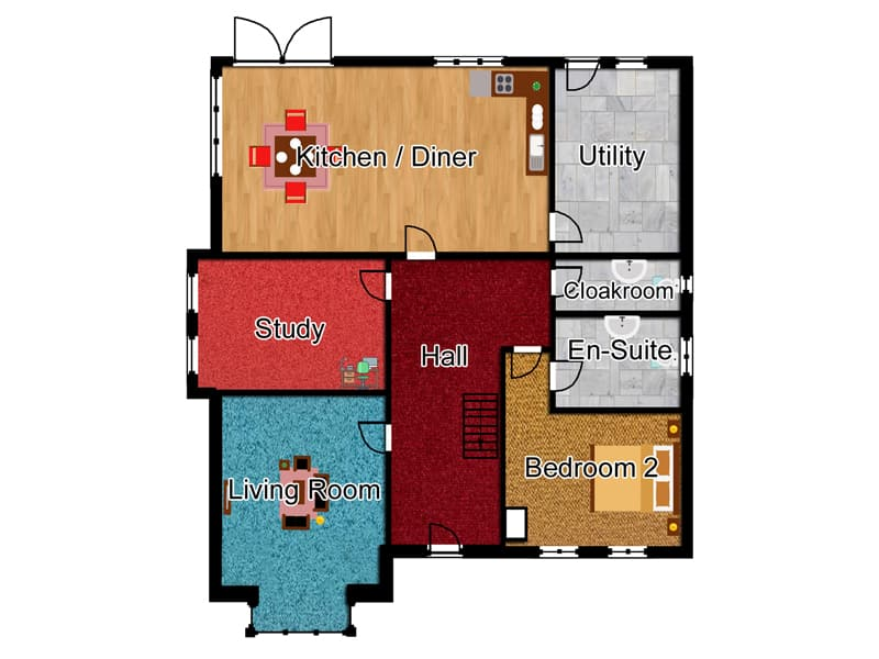 five bedroom house designs the duxmere five bedroom house for sale in velddrif gideon estates
