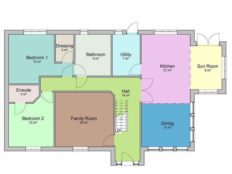 4 bedroom dormer bungalow plans