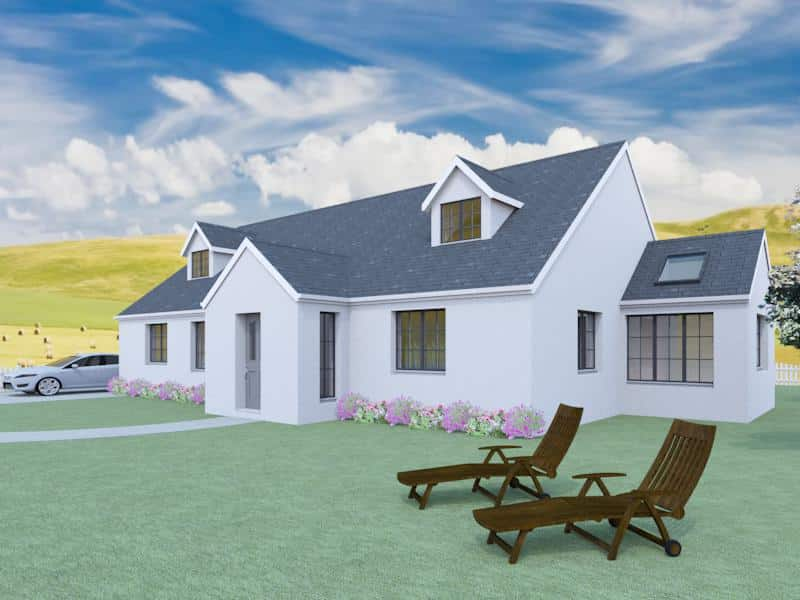 4 bedroom dormer bungalow plans the aconbury