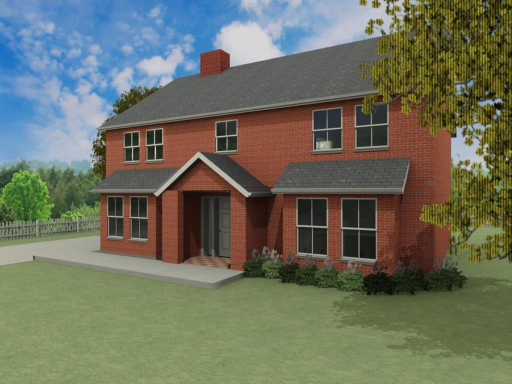 Detached home house designs the eastwood houseplansdirect for House plans direct