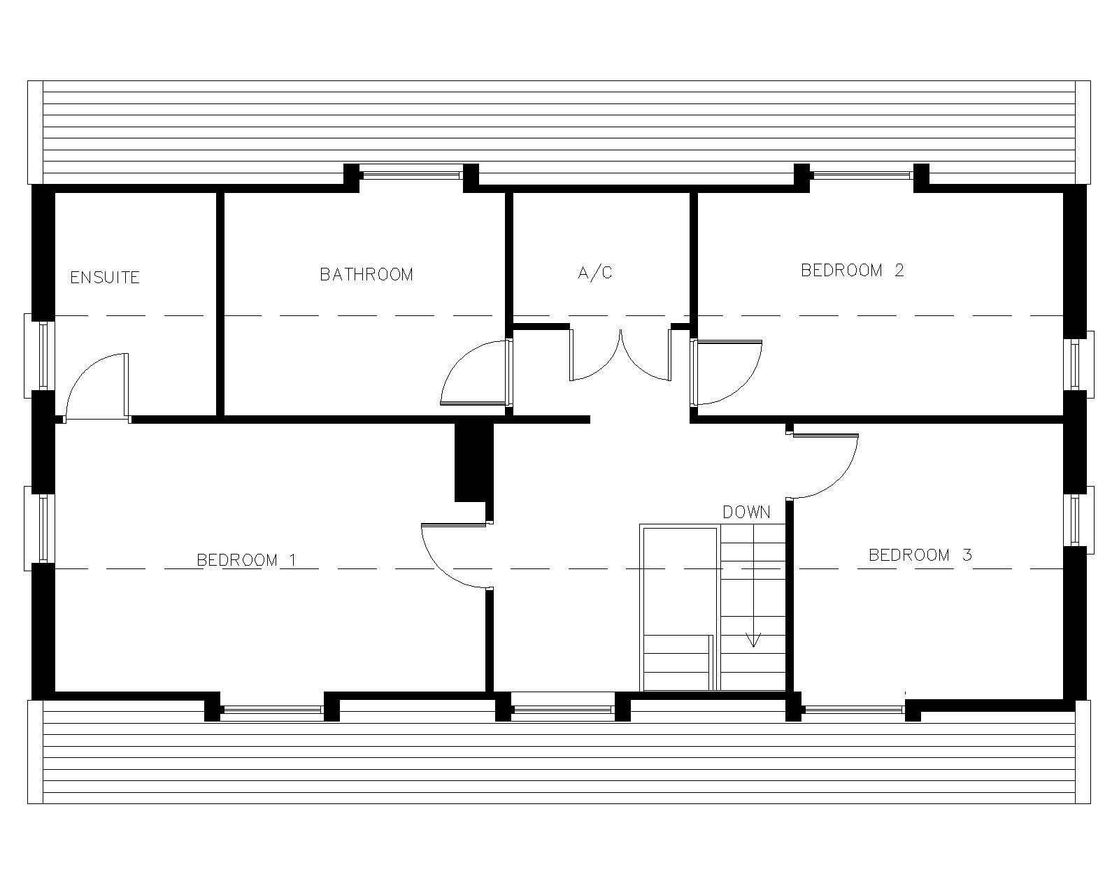 Dormer bungalow plans joy studio design gallery best for Dormer floor plans