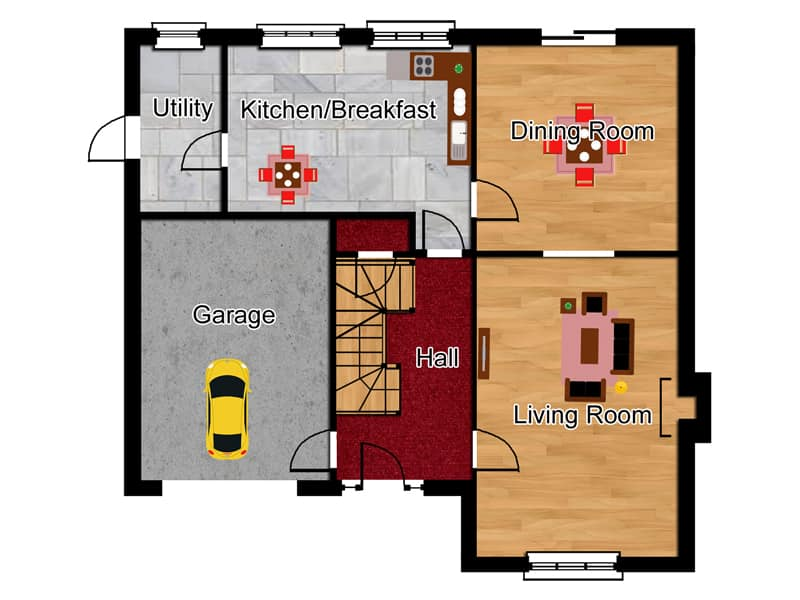 traditional house building plans