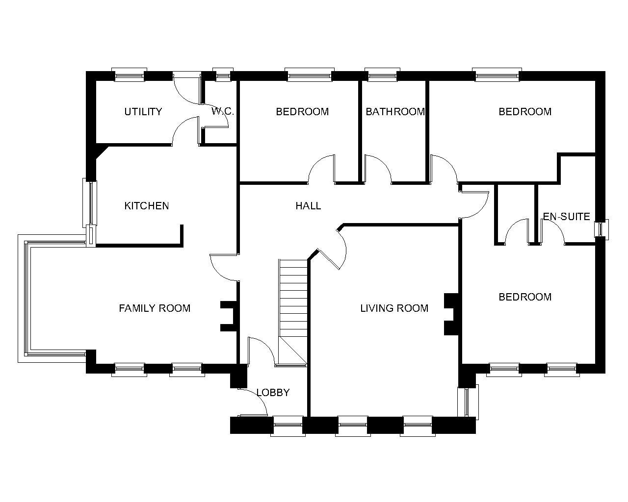 3 Bedroom Dormer Bungalow Plans – Home Ideas Decor