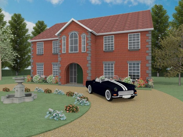 four bedroom house designs