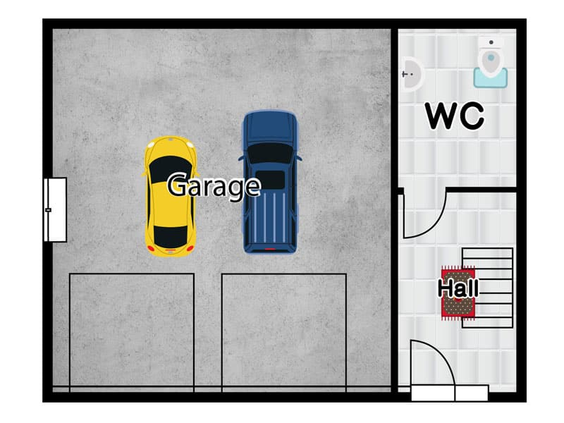 granny annexe plans with double garage