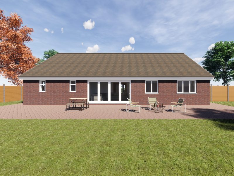 detached bungalow designs