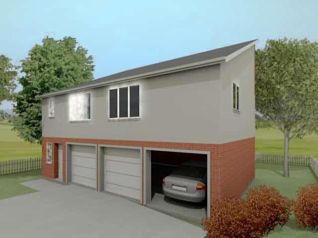 The arundel granny annexe plans houseplansdirect for Annexe garage