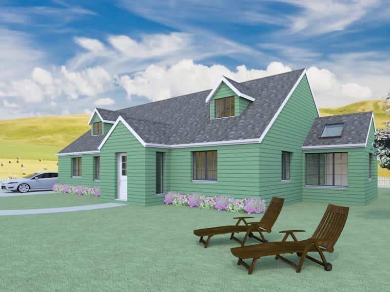 4 Bedroom Dormer Bungalow Plans The Aconbury