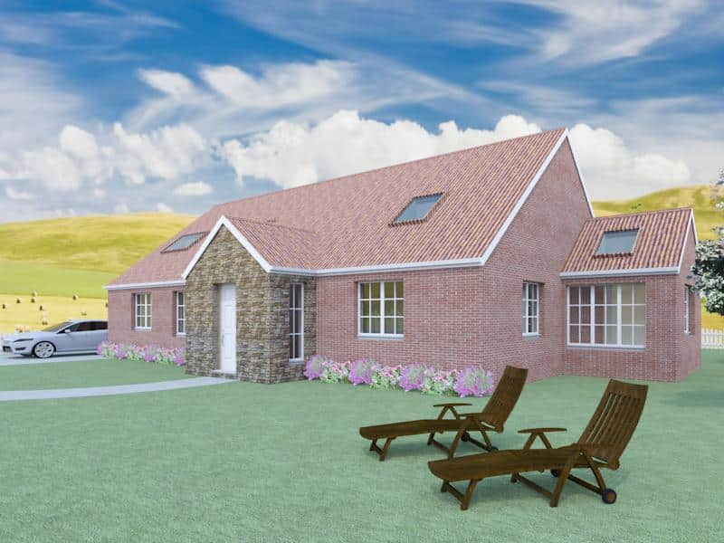 4 bedroom dormer bungalow plans the aconbury Dormer house plans
