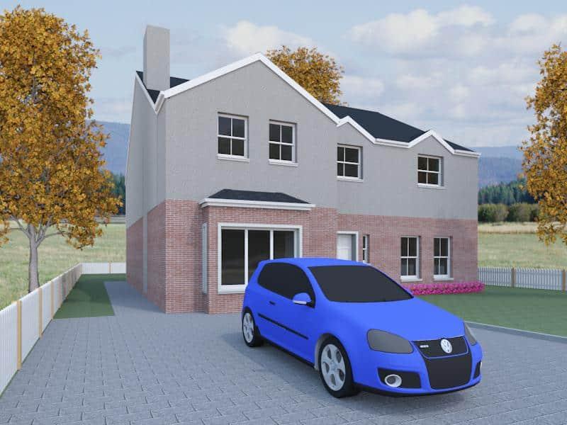 five bedroom house designs