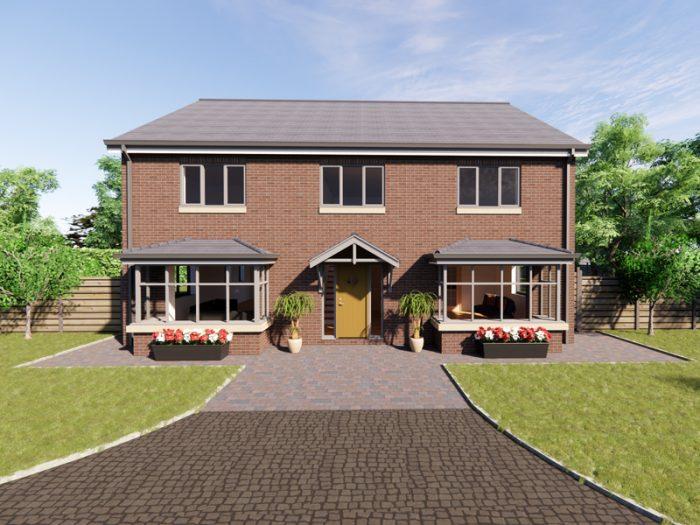 detached home house designs