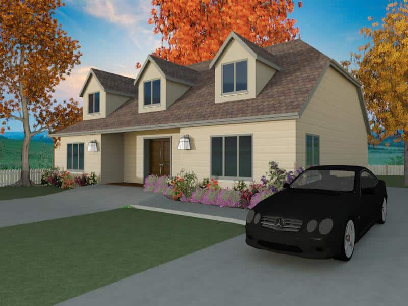 Home plan for self build the portway houseplansdirect for 4 bedroom dormer bungalow plans