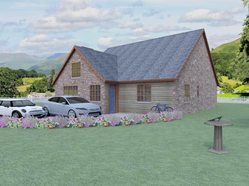 Dormer style house plans the wellington houseplansdirect for Dormer house plans