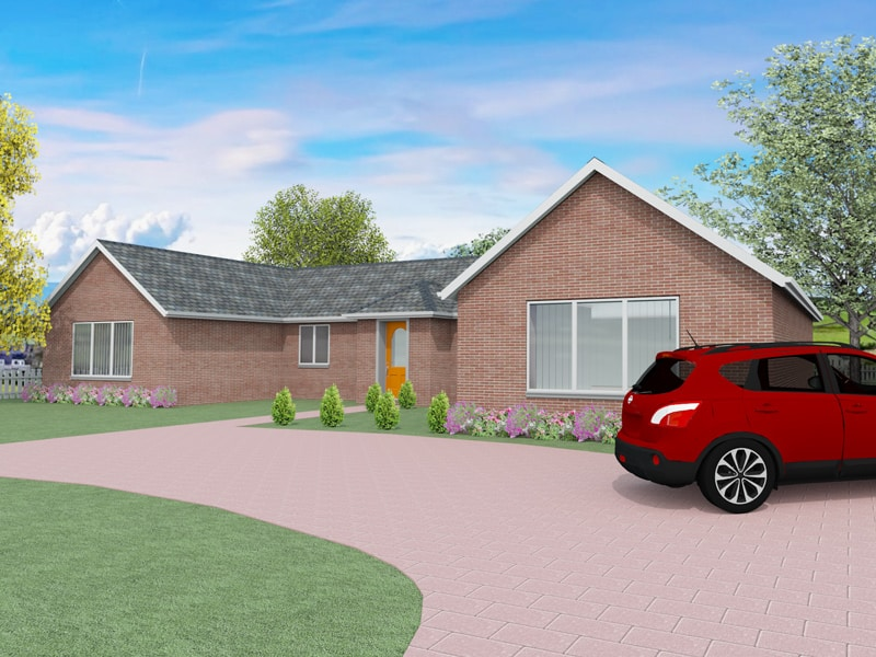 Traditional bungalow plans the wigmore houseplansdirect for Traditional bungalow house plans