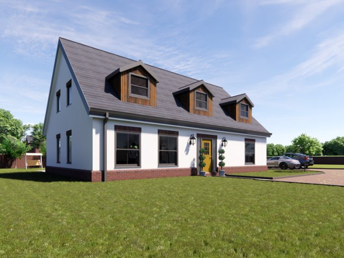 dormer bungalow house designs