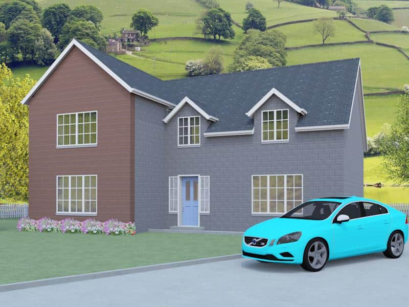 House plans for self builders arts like the gable end for Self build kit home designs