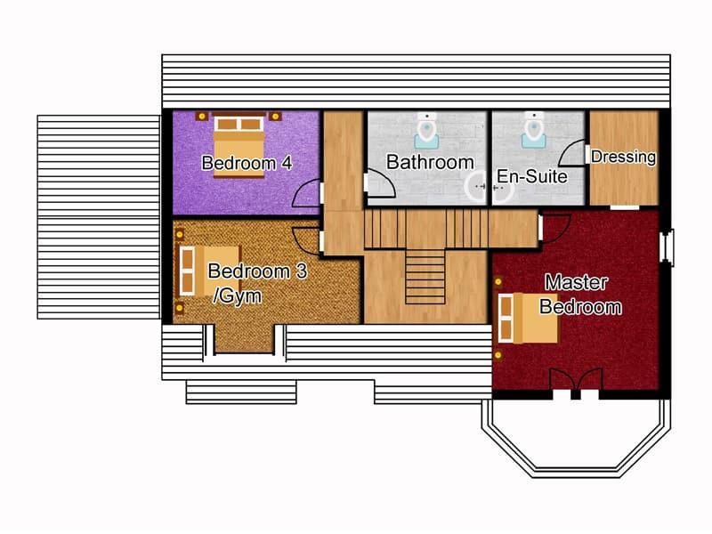 executive house plans