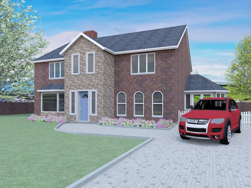 House Plans With Conservatories The Mortimer