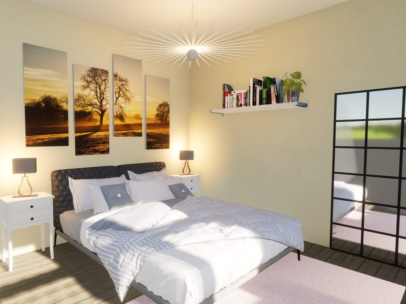 three bedroom bungalow plan