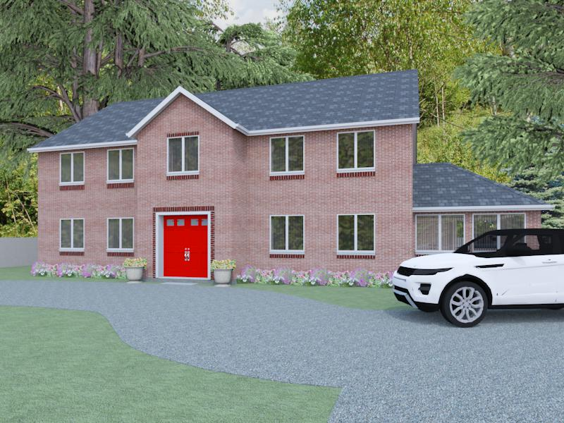 Detached Country House Plans The Colwall