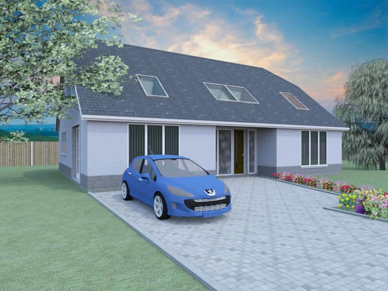 2 bedroom dormer bungalow plans the westgates for 2 bhk bungalow designs