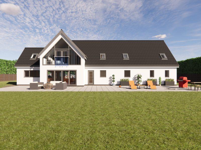 large dormer bungalow designs
