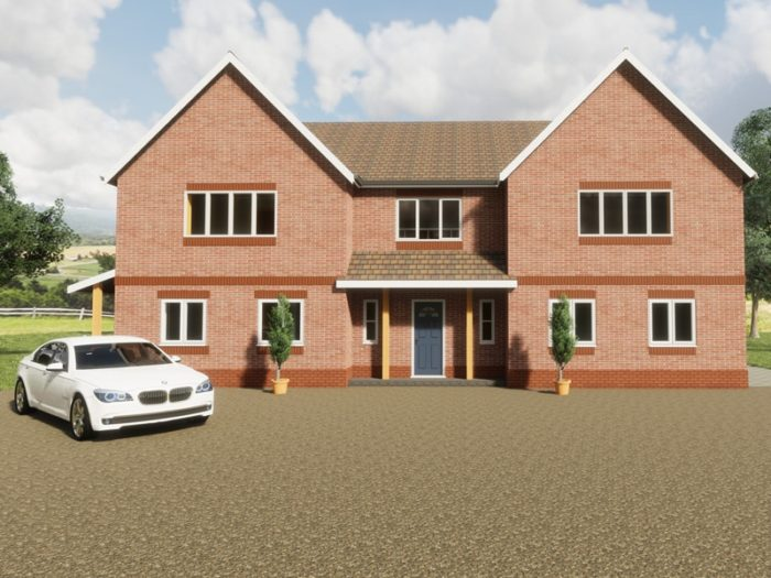 four bedroom country house design