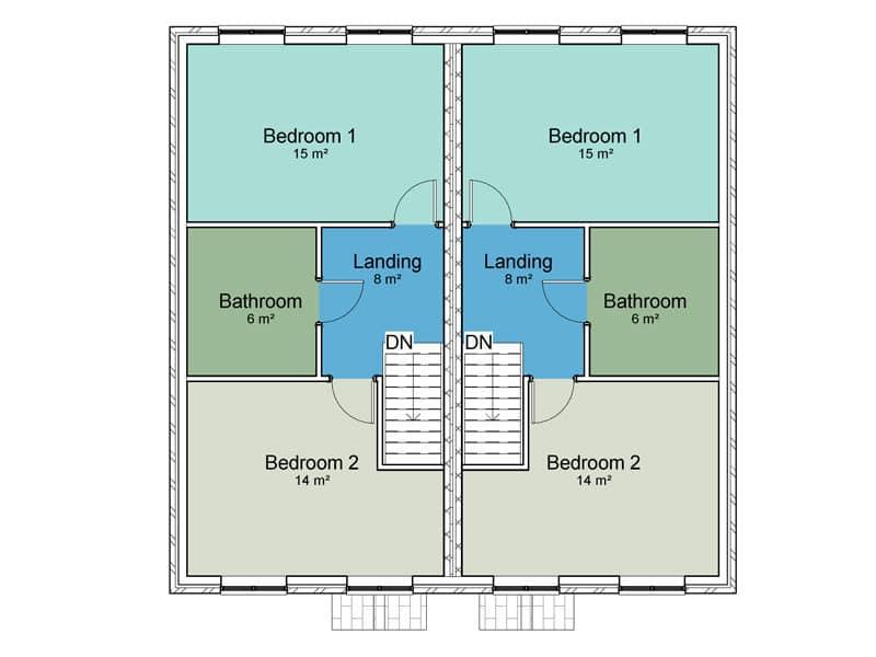 semi detached house design