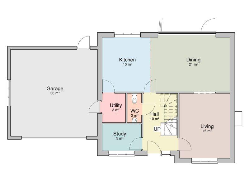 2.5 storey house design